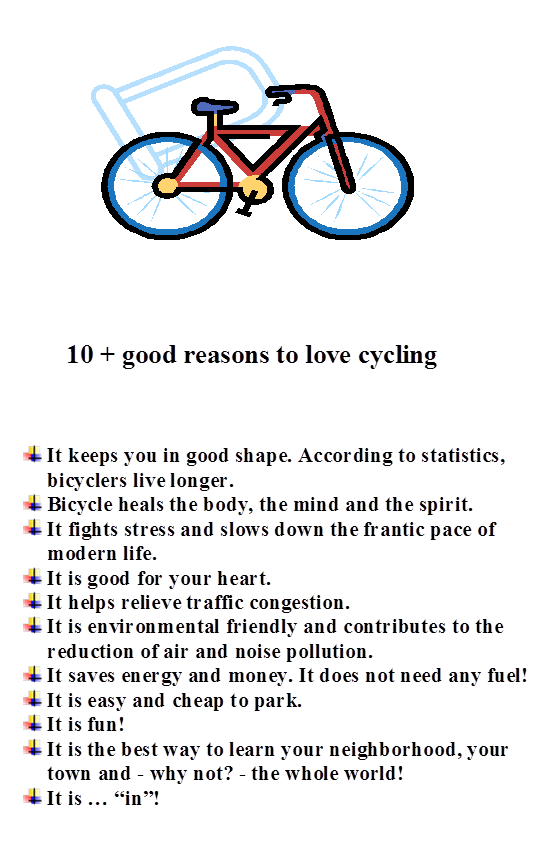 10+ reasons to love Cycling