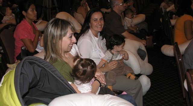Breastfeeding event 2009