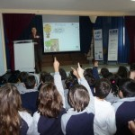 """Awareness raising measures for water saving"" project: presentations to schools/ dissemination activities"