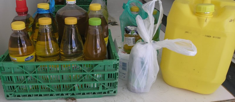 Donate your used cooking oils