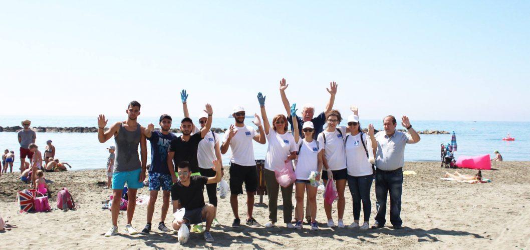 Beach cleanup campaign 2017