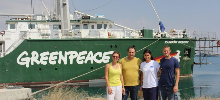 Η Greenpeace υποστηρικτής της ΑΚΤΗΣ
