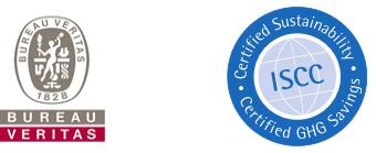 Η ΑΚΤΗ έχει πιστοποιηθεί με το πρότυπο ISCC.