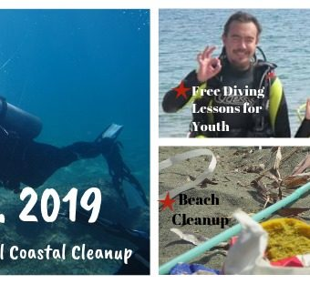 21.9.2019 – MarLitCy in Agia Napa for the International Coastal Cleanup