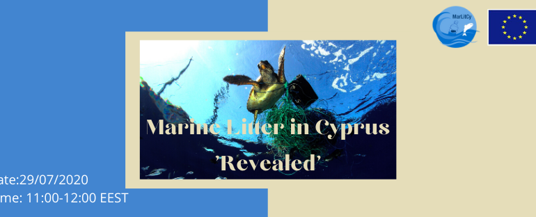 WEBINAR: Marine Litter in Cyprus 'Revealed'