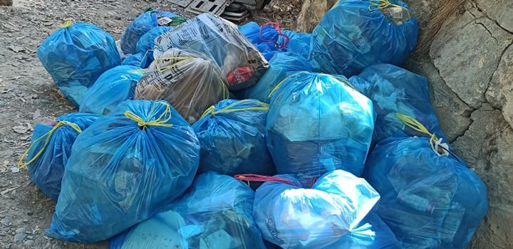 720 kg of trash @ Pediaios River-side cleanup