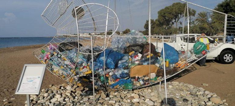 Γεροσκήπου: 320 κιλά ανακυκλώσιμων υλικών μέσα στο ανακυκλόψαρο