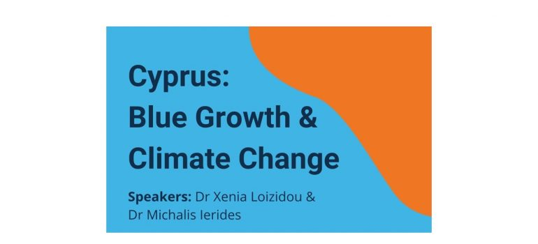 "Online discussion – ""Cyprus: Blue Growth & Climate Change"""