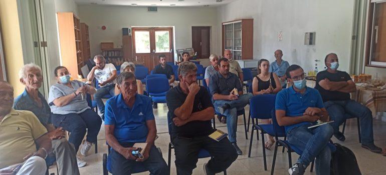 29062021_Ημερίδα και συμμετοχικό εργαστήριο Κοινωνικών Εταίρων με θέμα τη Μεσογειακή διατροφή στον Κάθηκα