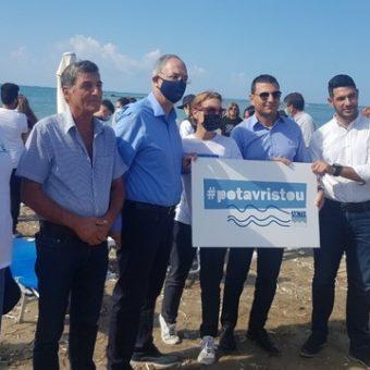 24092021_Μεσογειακή Ημέρα Ακτής – Καθαρισμός ακτής στην παραλία της Γεροσκήπου και καθαρισμός βυθού στο λιμανάκι της Πάφου