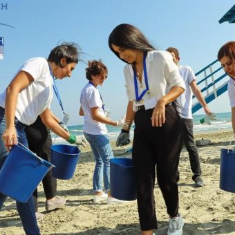 Zero Waste Beach: Πέραν των 1.600 τόνων ανακυκλώσιμων υλικών σε τρία χρόνια!