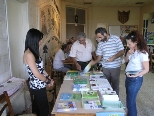 Rare endemic plants within the Cyprus buffer zone