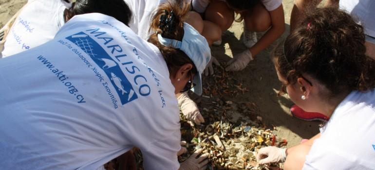 International Beach Cleaning Day, 20 September 2014, Larnaca