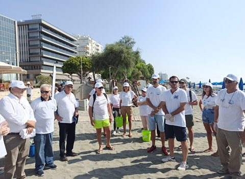 23092020_World Maritime Day_Akti Olympion B cleanup